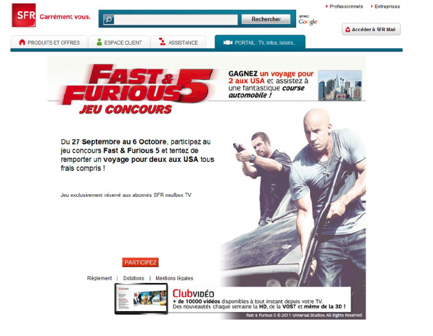 Fast and Furious experience in the US