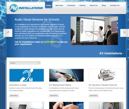 AV installer improves customer conversion with new website