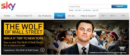 Movie Promotion – The Wolf of Wall Street