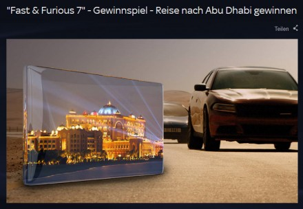 Promoting Fast & Furious 7 in Germany